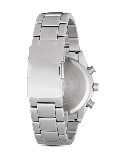 Funksolaruhr Eco-Drive Elegant AT8011-55E CITIZEN Herren Edelstahl 4974374228253