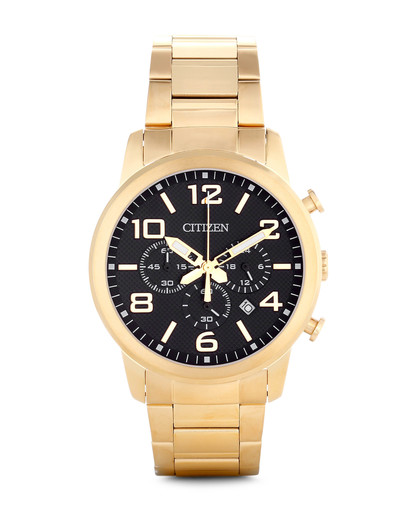 Chronograph AN8052-55E CITIZEN gold,schwarz 4974374235794