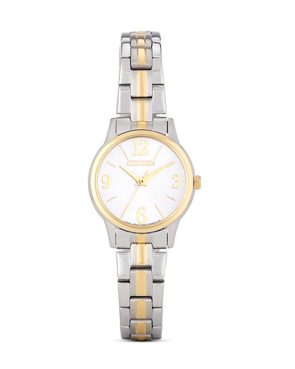 Quarzuhr Basic EX0294-58H CITIZEN gold,silber 4974374209245
