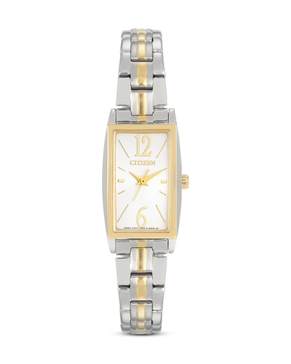 Quarzuhr Basic EX0304-56A CITIZEN gold,silber 4974374209276