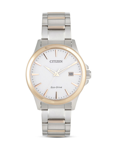 Solaruhr Eco-Drive Sports BM7294-51A CITIZEN gold,silber,weiß 4974374235169