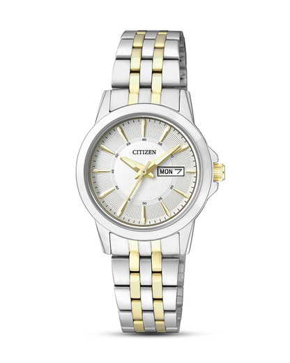 Quarzuhr Basic EQ0608-55AE CITIZEN gold,silber 4974374247933