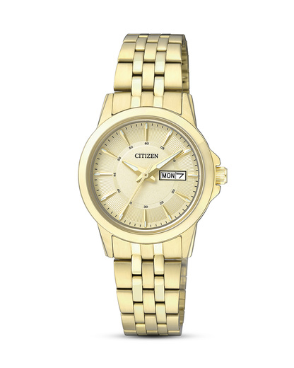 Quarzuhr Basic EQ0603-59PE CITIZEN gold 4974374247926