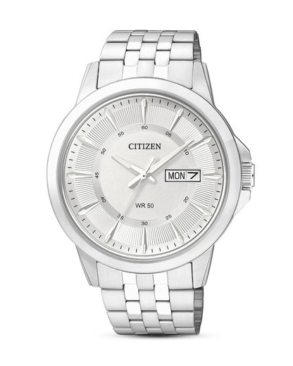 Quarzuhr Basic BF2011-51AE CITIZEN silber 4974374247513