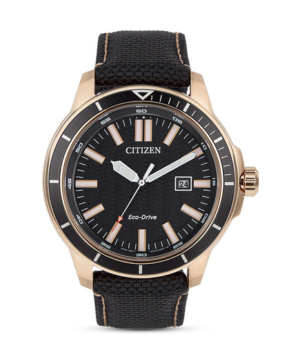 Solaruhr Eco-Drive Sports AW1523-01E       CITIZEN gold,schwarz 4974374256669