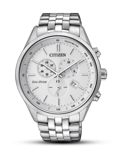 Solaruhr Eco-Drive Elegant AT2141-87A CITIZEN silber,weiß 4974374261175