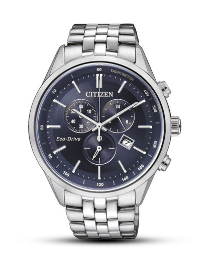 Solaruhr Eco-Drive Elegant AT2141-52L CITIZEN blau,silber 4974374249227