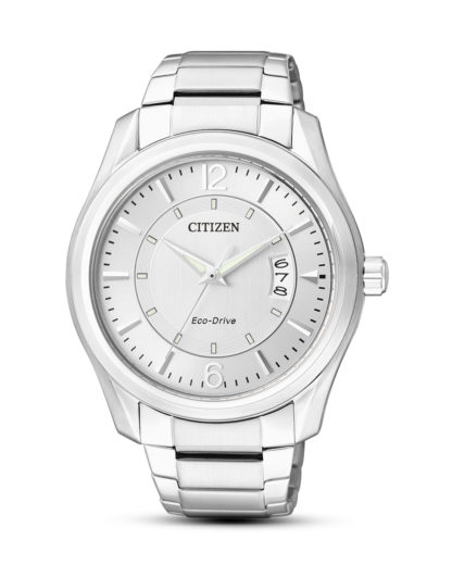 Solaruhr Eco-Drive Sports AW1030-50B CITIZEN silber 4974374216137