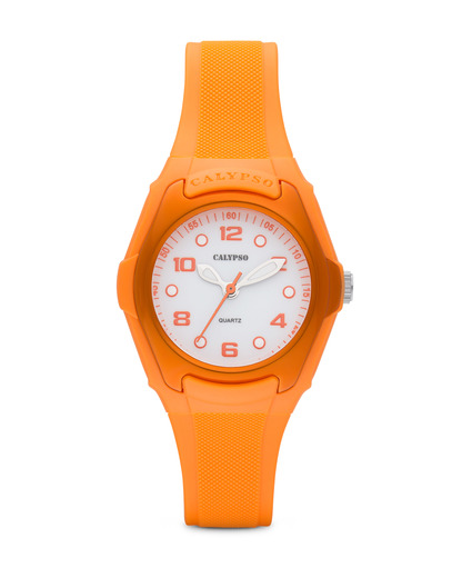 Quarzuhr Classic Lady K5237/5 Calypso orange,weiß 8430622565878