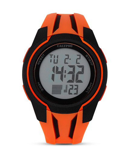 Digitaluhr K5703/1 Calypso orange,schwarz 8430622629297