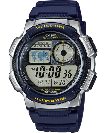 Digitaluhr AE-1000W-2AVEF CASIO Herren Resin 4549526112041