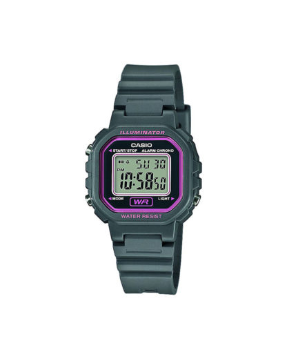 Digitaluhr LA-20WH-8AEF CASIO Damen grau 4549526169922
