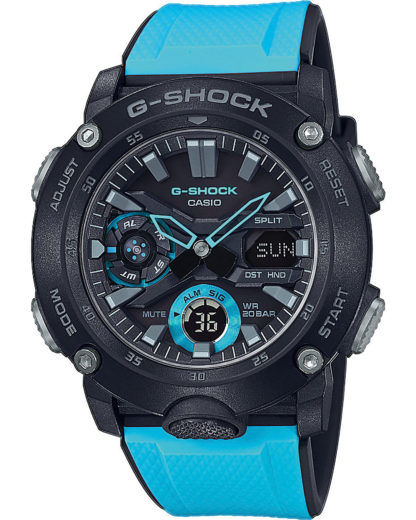Digitaluhr GA-2000-1A2ER CASIO blau 4549526219436