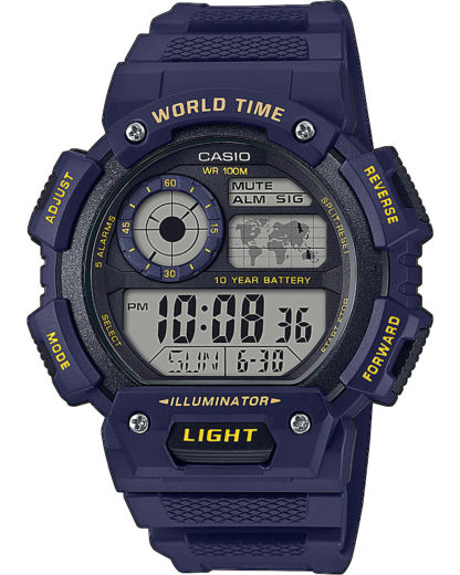 Casio Herren-Uhren Digital Quarz CASIO Blau 4549526224577