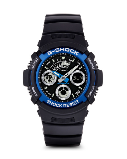 Digitaluhr AW-591-2AER CASIO schwarz 4971850880998