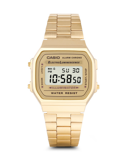 Digitaluhr Retro Collection A168WG-9EF CASIO gold 4971850433613