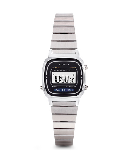 Digitaluhr Retro Collection LA670WEA-1EF CASIO schwarz,silber 4971850965329