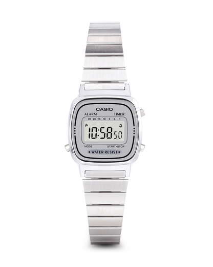 Digitaluhr Retro Collection LA670WEA-7EF CASIO silber 4971850965350