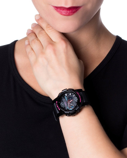 Digitaluhr BGA-180-1BER BABY-G Damen Resin 4971850997191