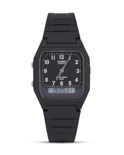 Chronograph Casio Collection AW-48H-1BVEF CASIO schwarz 4971850799405