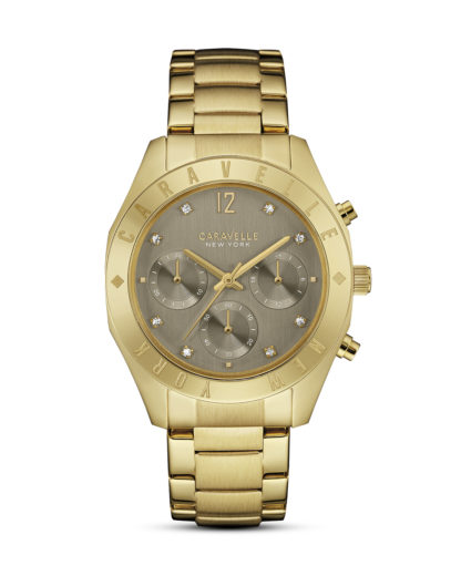 Chronograph Boyfriend 44L191 CARAVELLE NEW YORK braun,gold 7613077534069