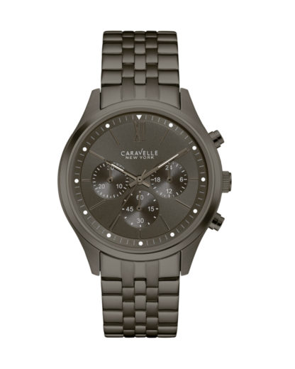Chronograph 45A133 CARAVELLE NEW YORK grau 7613077538753