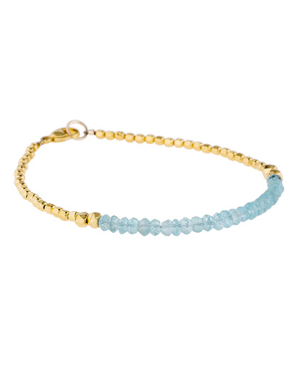 Armband 925 Sterling Silber-Aquamarin Catherine Weitzman 4250945510287