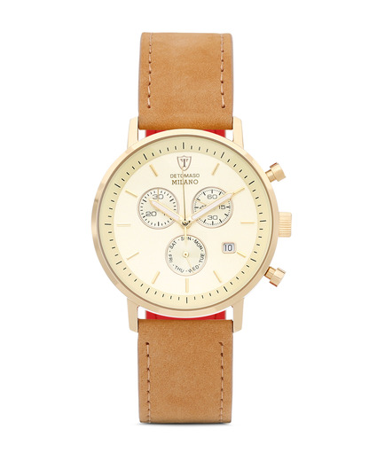 Chronograph MILANO DX1052-H DETOMASO beige,gold 4260300445239