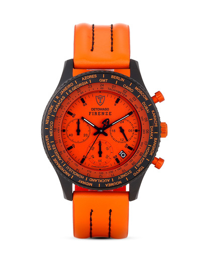Chronograph Firenze SL1624C-OR DETOMASO orange,schwarz 4260300445314