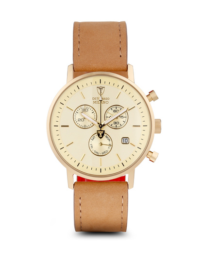 Chronograph Milano DT1052-H DETOMASO beige,gold 4260300443372
