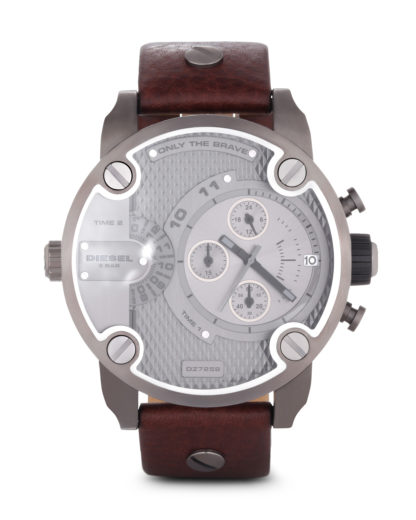Chronograph Little Daddy DZ7258 DIESEL braun,grau 4051432655975