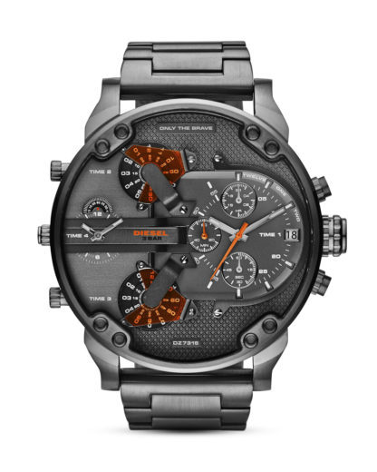 Chronograph Mr. Daddy 2.0 DZ7315 DIESEL grau,orange 4053858270879