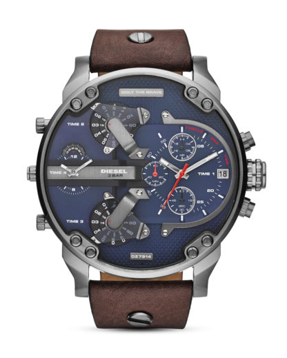 Chronograph Mr. Daddy 2.0 DZ7314 DIESEL Braun 4053858270862