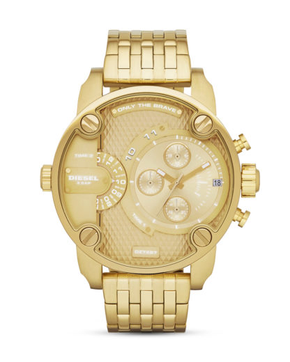 Chronograph Little Daddy DZ7287 DIESEL Gold 4053858003071