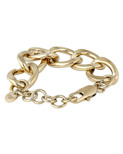 Armband Chain Reaction vergoldet Dyrberg / Kern gold Kein Schmuckstein 5703885305196