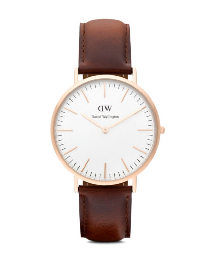 Quarzuhr St Andrews 0106DW Daniel Wellington Braun 7350068240065