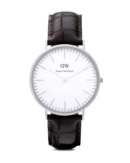 Quarzuhr York 0211DW Daniel Wellington Braun 7350068240782