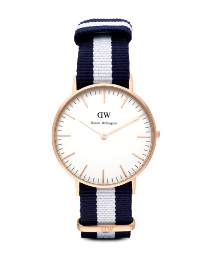 Quarzuhr Glasgow 0503DW Daniel Wellington Blau 7350068240355