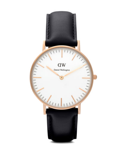 Quarzuhr Sheffield 0508DW Daniel Wellington Schwarz 7350068240409