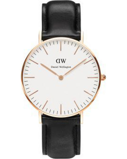 Quarzuhr Sheffield 0508DW Daniel Wellington Damen Leder 7350068240409