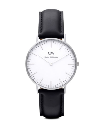 Quarzuhr Sheffield 0608DW Daniel Wellington Schwarz 7350068240492