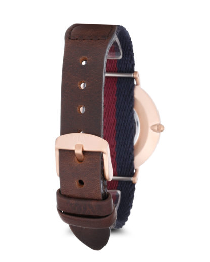Quarzuhr Grace London 0551DW Daniel Wellington Damen,Herren Stoff 7350068241635