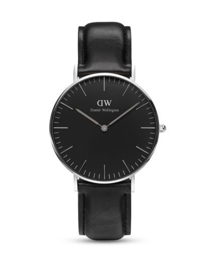 Quarzuhr Classic Black Sheffield DW00100145 Daniel Wellington Braun 7350068244742