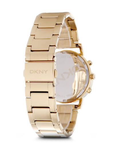 Chronograph LEXINGTON Donna Karan New York NY8861 DKNY Damen Edelstahl vergoldet 4053858030787