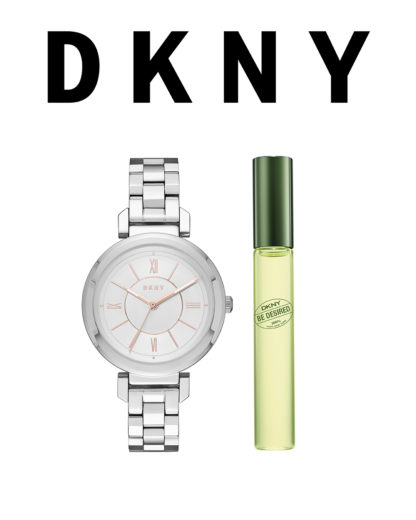Quarzuhr Crosswalk NY2313 DKNY gold 4053858423824