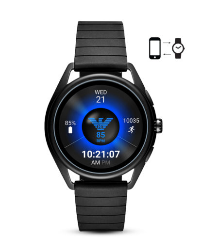 Smartwatch  ART5017 EMPORIO ARMANI CONNECTED schwarz 4013496294330