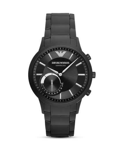 Hybrid-Smartwatch ART3001 EMPORIO ARMANI CONNECTED schwarz,silber 4053858777439