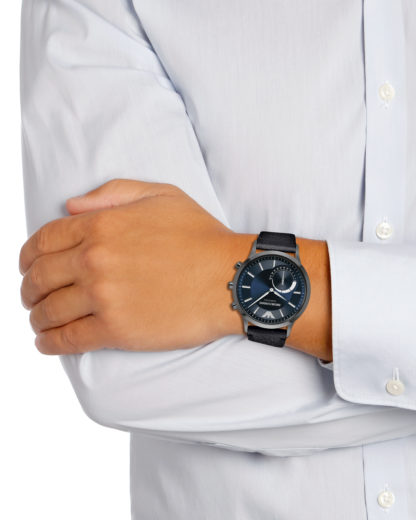 Hybrid-Smartwatch ART3004 EMPORIO ARMANI CONNECTED Herren Leder 4053858777460