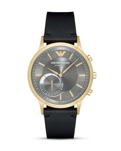 Hybrid-Smartwatch ART3006 EMPORIO ARMANI CONNECTED gold,grau,schwarz 4053858870314