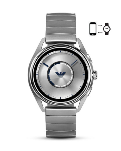 Smartwatch ART5006 EMPORIO ARMANI CONNECTED silber 4013496046885